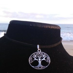 Silver Tree of Life Necklace #B